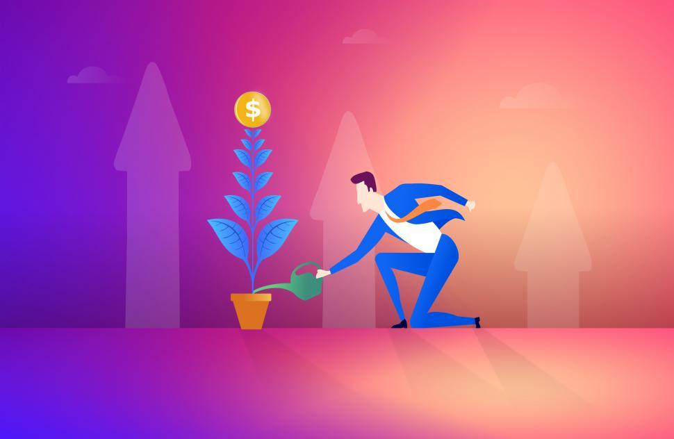 Financial Illustrations - Image Collection